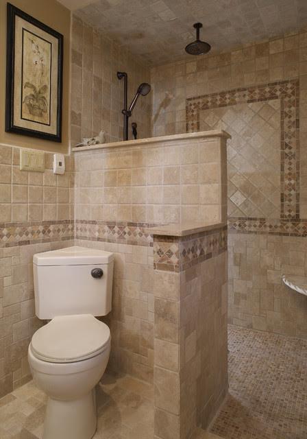 Walk in Shower - mediterranean - bathroom - philadelphia - by ...