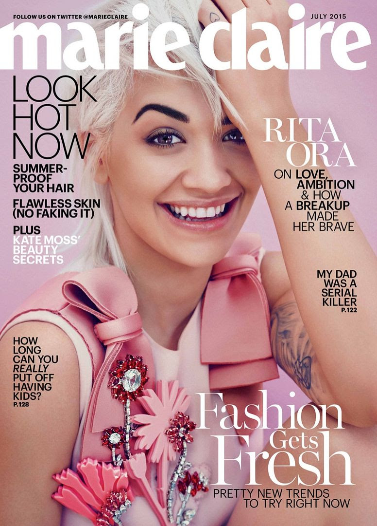 Rita Ora : Marie Claire (July 2015) photo Rita-Ora-Marie-Claire-July-2015-Cover-Shoot01.jpg
