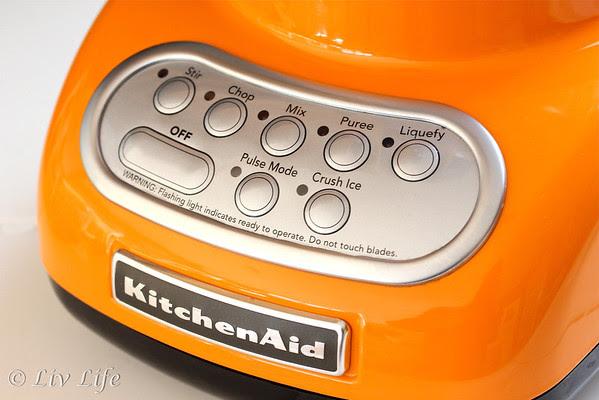 KitchenAid Blender Panel