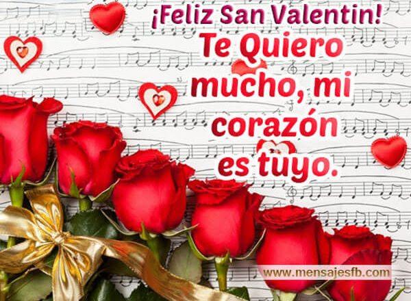 Bellas Frases Bonitas Por San Valentin Imagenes De Puro Amor