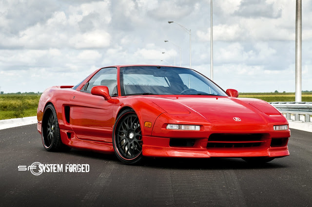 Acura NSX on System Forged SF10