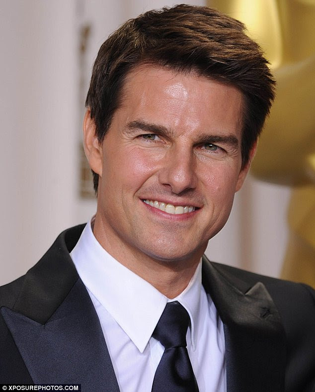 Ageing with grace: Tom Cruise has said he hasn't had any plastic surgery and never would