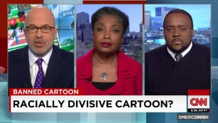 "School bans ""racially divisive"" cartoon"