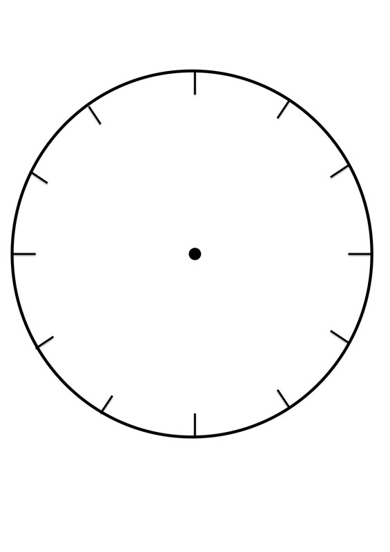 Clock Faces for use in learning to tell the time. - Craft