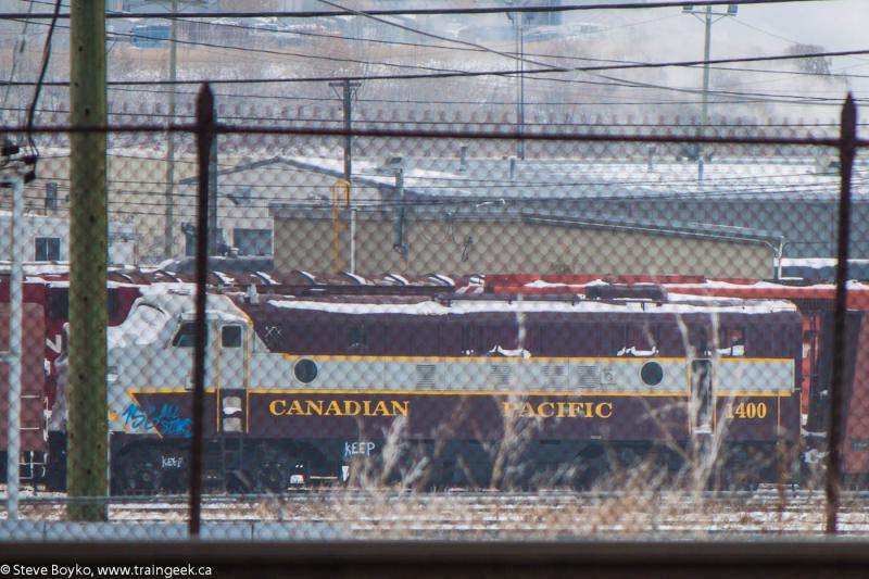 CP 1400 in Calgary