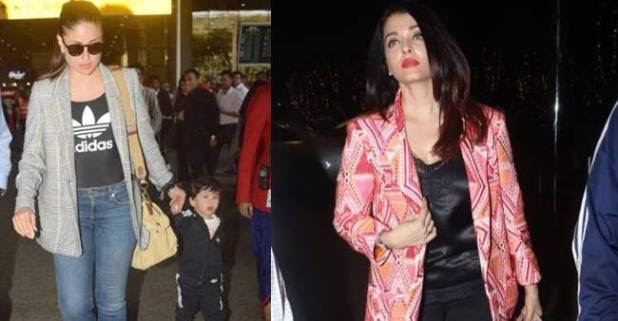 From Kareena-Taimur to Aishwarya Rai Bachchan, the airport looks of these celebrities will leave you awe-struck