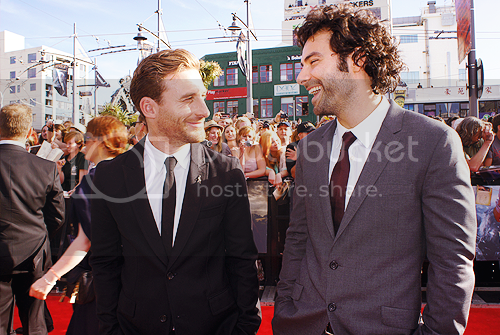 Aidan Turner at 'The Hobbit: An Unexpected Journey' world premiere aidan1.png