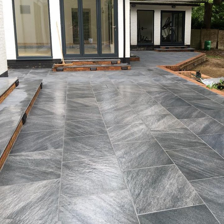 Natural Stone Patios - G & J Groundworks