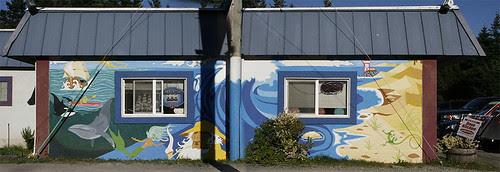 Dimitri's Mural Port and Starboard