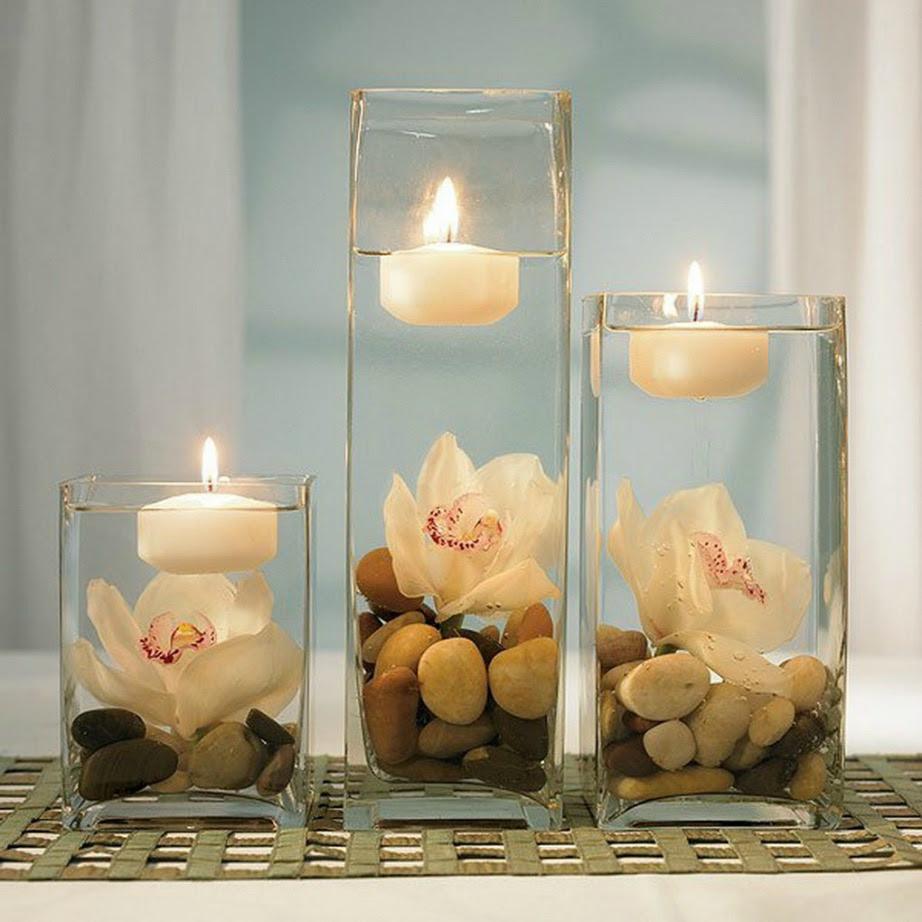 Τα κεριά, σύμφωνα με το φενγκ σούι, καθαρίζουν την ενέργεια ενός χώρου.