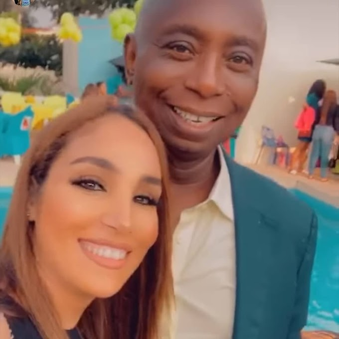 Just In: Billionaire businessman Ned Nwoko and his Moroccan wife celebrate their son on his third birthday