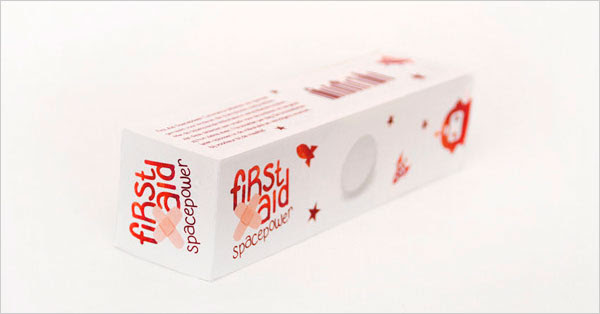 First Aid Cool Medicine packaging 30+ Beautiful Examples of Medicine Packaging Designs For Inspiration