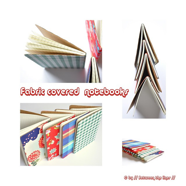 DIY Gift Idea #5 :: Fabric covered notebook