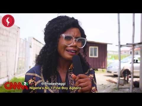 Comedy:Broda Shaggi beat Anty Shaggi for insulting him