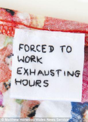 Primark insists 'sweatshop' labels sewn into its clothes ...