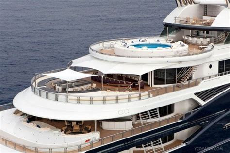 Take a Tour of This $330 Million Yacht Bill Gates Rented