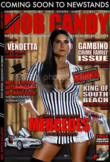 Inaugural Issue of Mob Candy