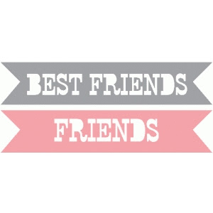 Silhouette Design Store View Design 41343 Best Friends Friends