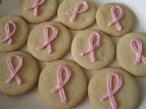 Breast Cancer Cookies