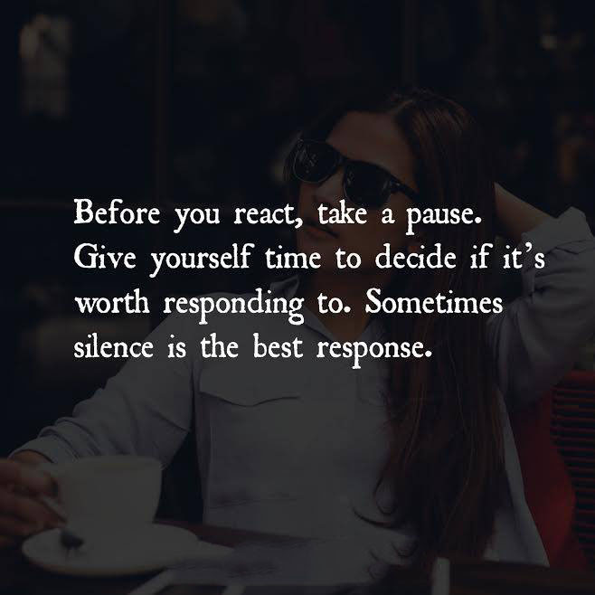 Before You React Quotes Area