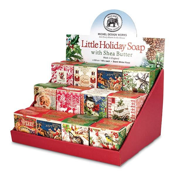 Michel Design Works Soap Little Holiday Cheers Christmas
