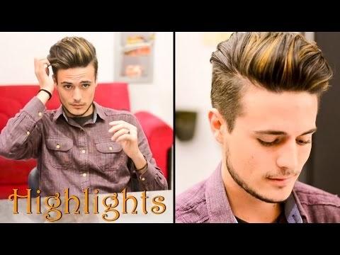 Mens Hair Highlights Natural Streaks Mariano Di Vaio Inspired