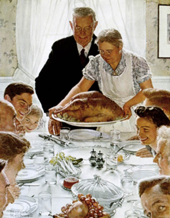 Norman Rockwell's Thanksgiving
