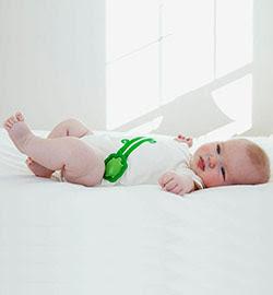 Intel Edison Smart Baby Onesie at CES 2014