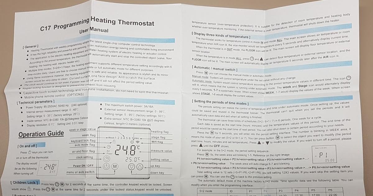 Super Hack Correlation Floureon Byc17 Gh3 Thermostat Teardown And Impression Wiring 101 Olytiaxxcnl