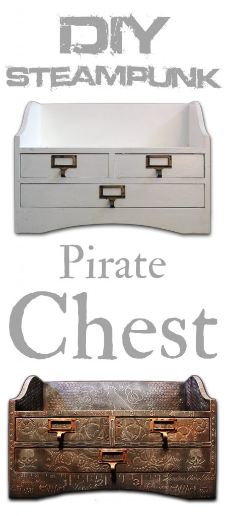 DIY Steampunk Pirate Chest