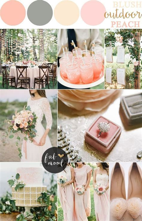 Blush Pink and Peach wedding Palette   *Rustic Nuptials in