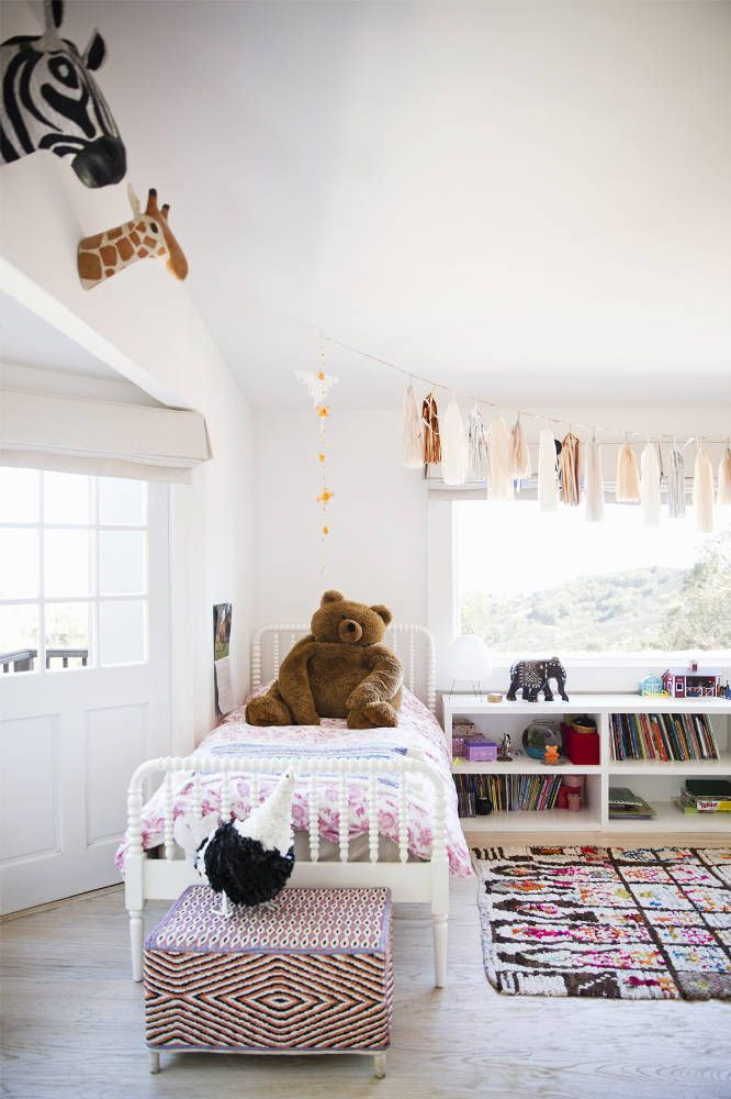 Bright and playful kids room
