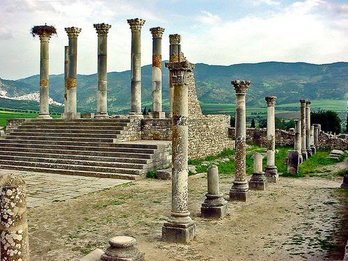 2268 VOLUBILIS Ruines du Capitole