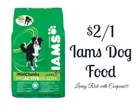 iams coupon    iams dry dog food living rich