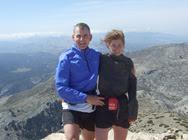 On the summit of Torrecilla