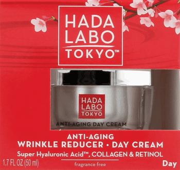 Hada Labo Tokyo, Anti-Aging Day Cream, przeciwzmarszczkowo-nawilżający krem na dzień, 50 ml, nr kat. 260911