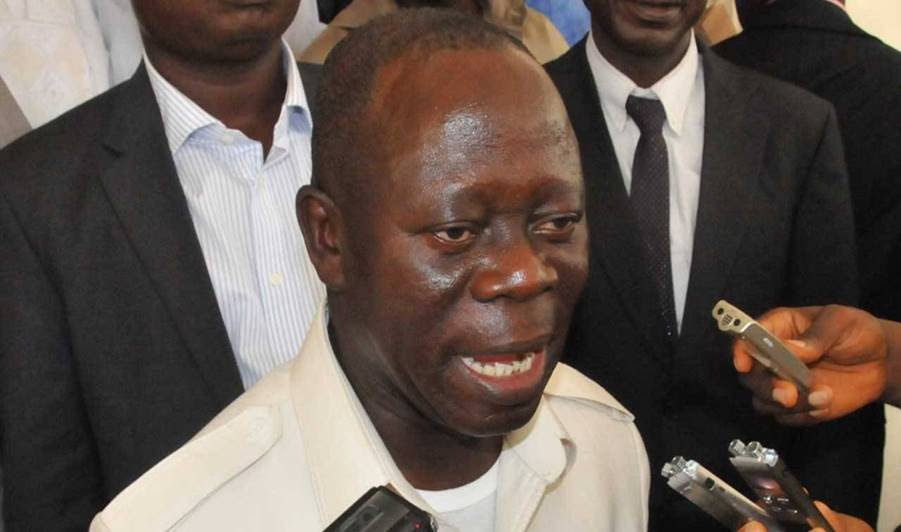 APC Chairman, Adams Oshiomhole makes terrible English blunder (Video)