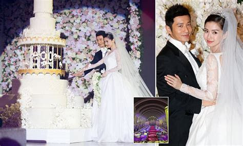 China's Kim Kardashian Angelababy marries with a custom