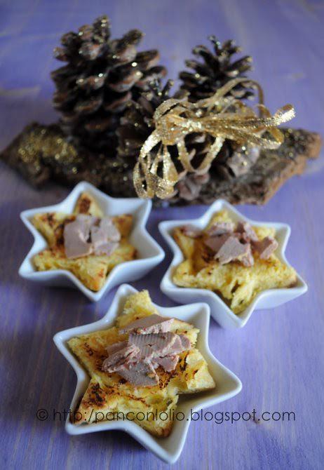 foie gras con panettone