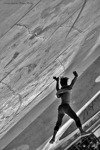 Santiago de Chile, breakdance by Alejandro Bonilla
