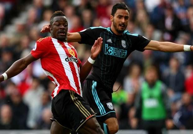 West Bromwich sofre gol no fim e apenas empata contra o lanterna Sunderland