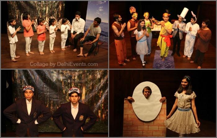 Alice Krishna Wonderland English Play Akshara Theatre Stills