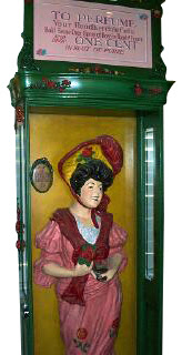 Lady Perfume Sprayer - Cabinet Image