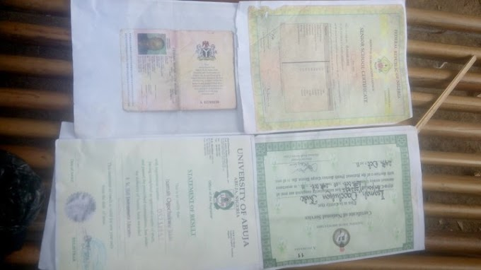 SHARE this POST: Lost but found Certificate of ISAMAH JUDE OGOCHUKWU