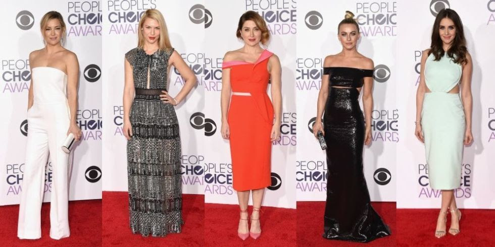 Best Dressed at the 2016 People's Choice Awards
