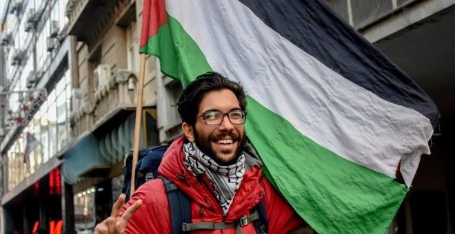 El activista Benjamin Ladraa - PÚBLICO