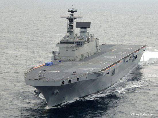 Мировой рынок современных крупных десантных кораблей