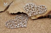 Monograce- hearts 2 psc- serduszka 2szt.
