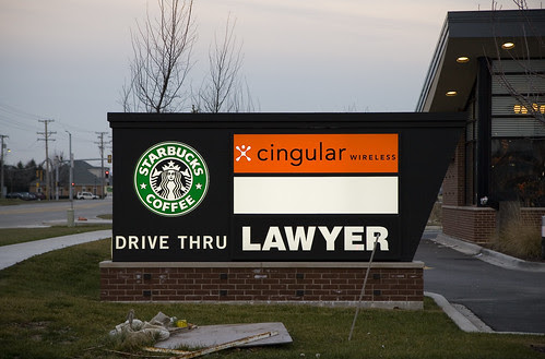 Drive Thru LAWYER !