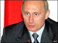 Vladimir Putin forseti